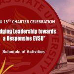 EVSU 15th Charter Celebration – Schedule of Activities