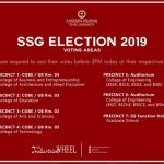 The election day for SSG 2019