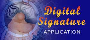 DICT Digital Signature Application